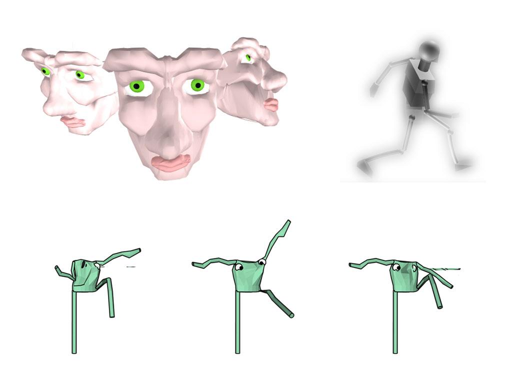 Computação gráfica (seleção de trabalhos antigos)