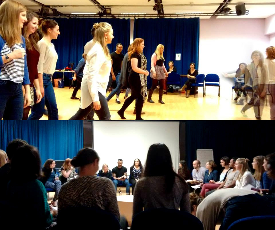 Workshop: drama and improvisation activities