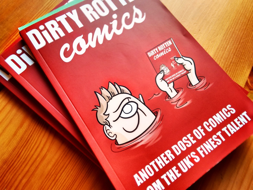 Dirty Rotten Comics: Cover
