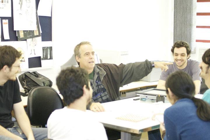 Gilberto em reunião do Poéticas Digitais (Out/2011)